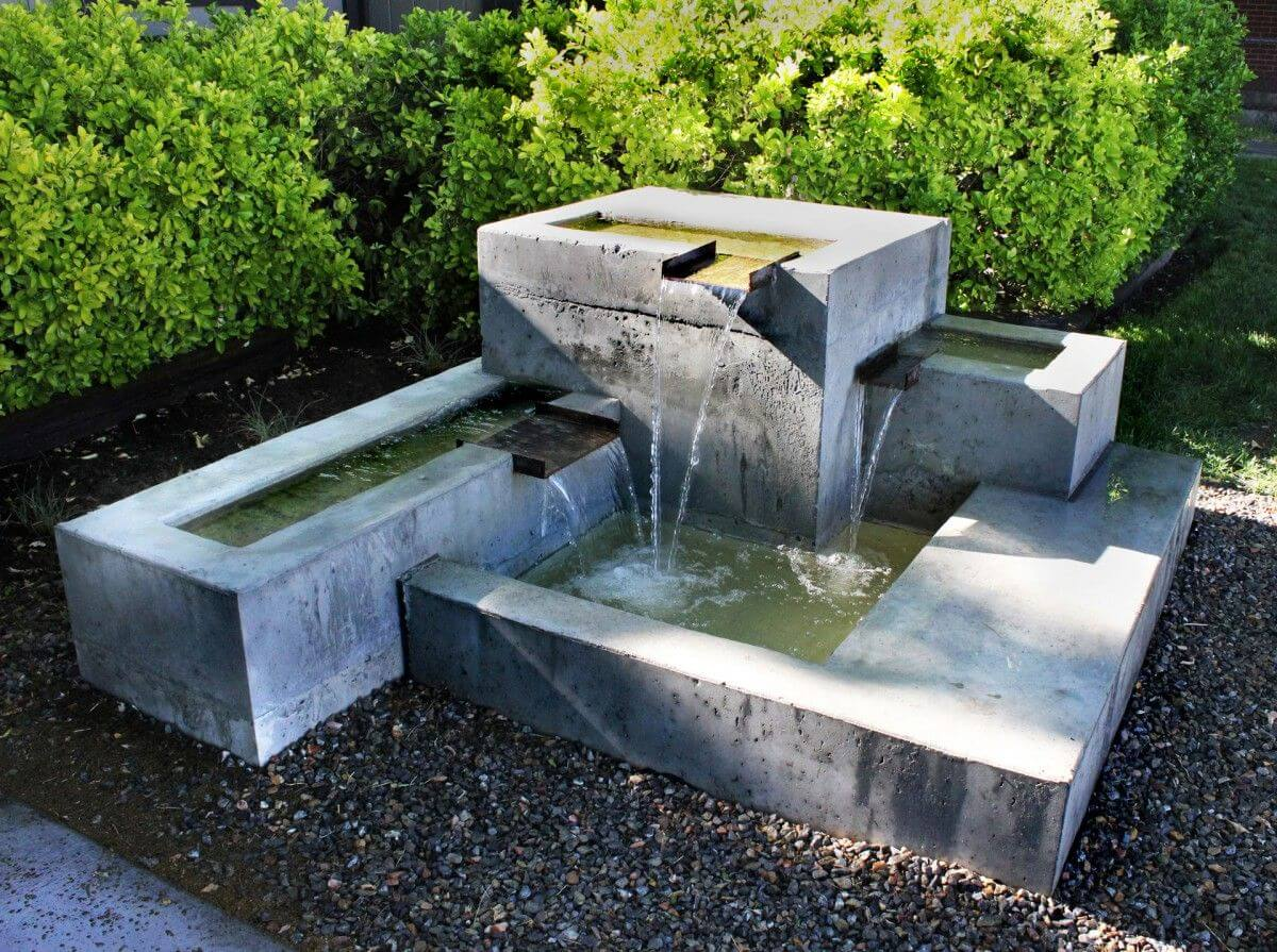 Concrete Fountains-San Diego Custom Concrete Pros & Concrete Repair Services