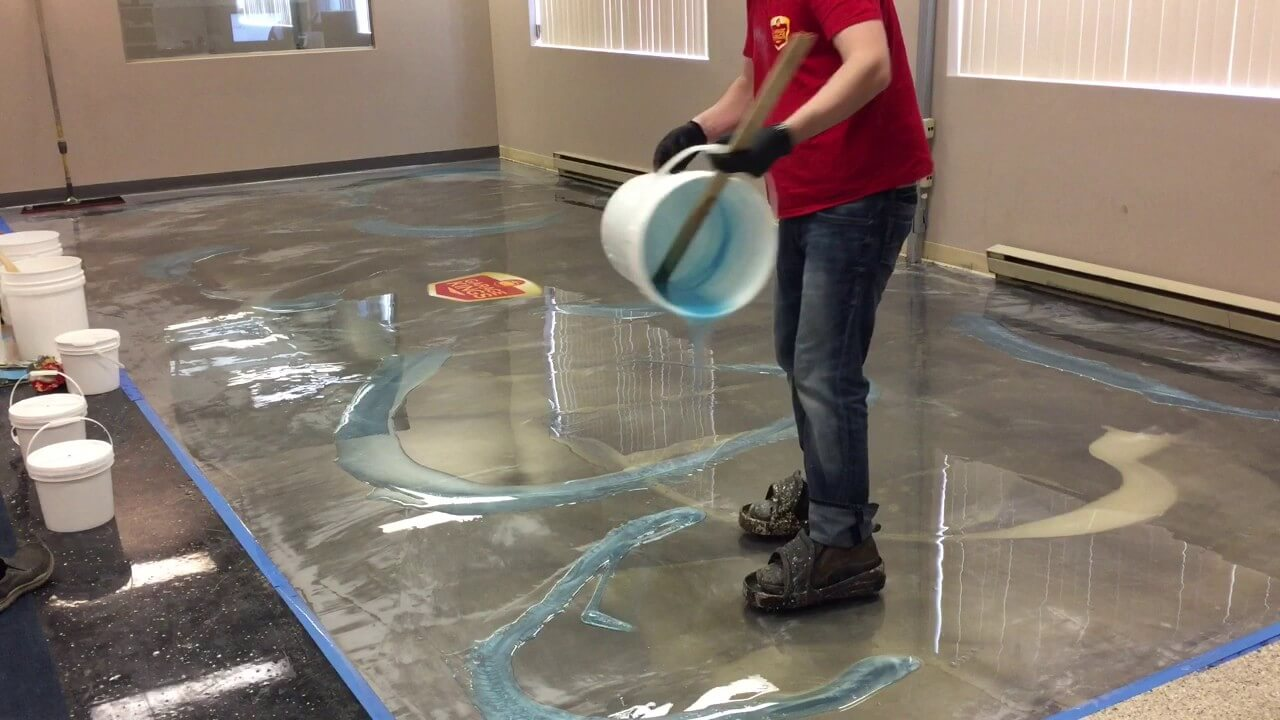 Epoxy Flooring-San Diego Custom Concrete Pros & Concrete Repair Services